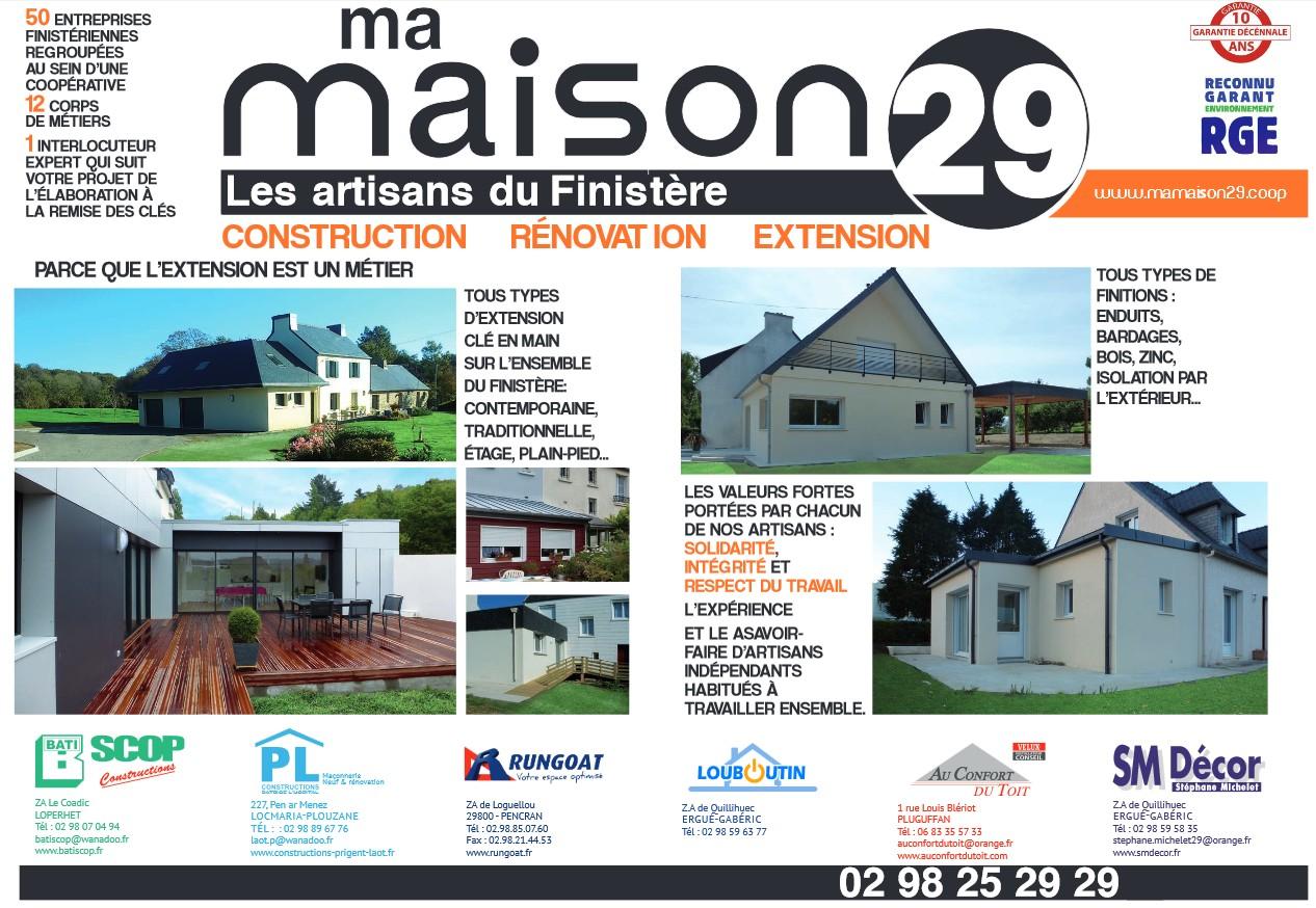 Parution dans tendances magazine ma maison 29 for Magazine ma maison